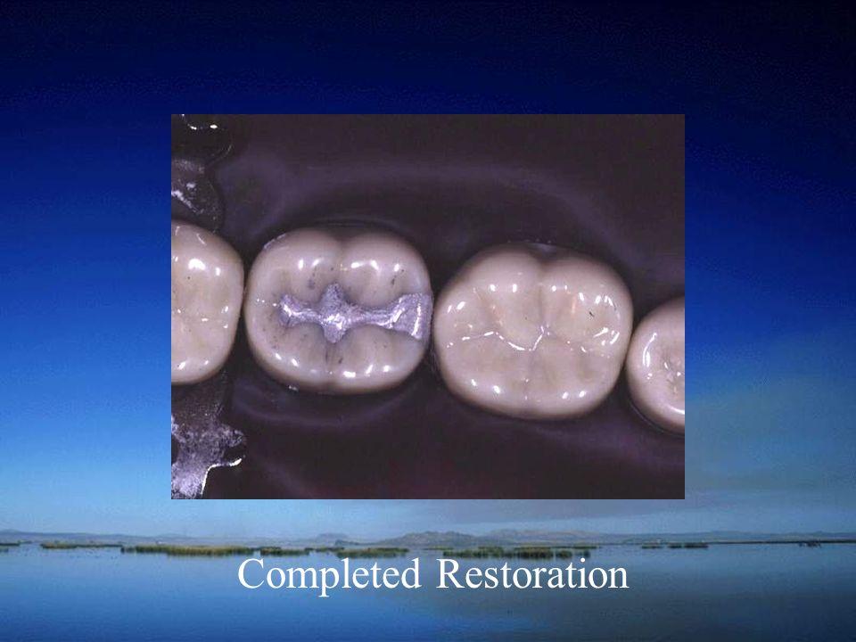 Completed Restoration