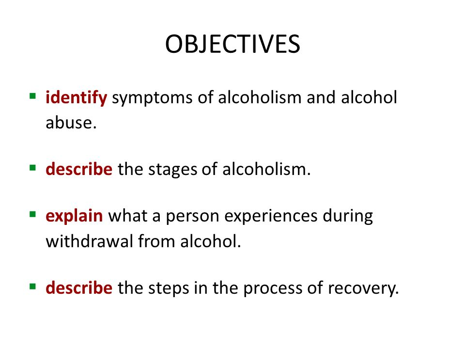 the stages and causes of alcoholism Stages of alcoholism - some believe there are 5 stages of alcoholism, learn more follow this link for more details on the long term effects of alcoholism alcoholism final stage - detailed information about end stage alcoholism during this stage the drinker has lost all control, and needs to drink in order to function.