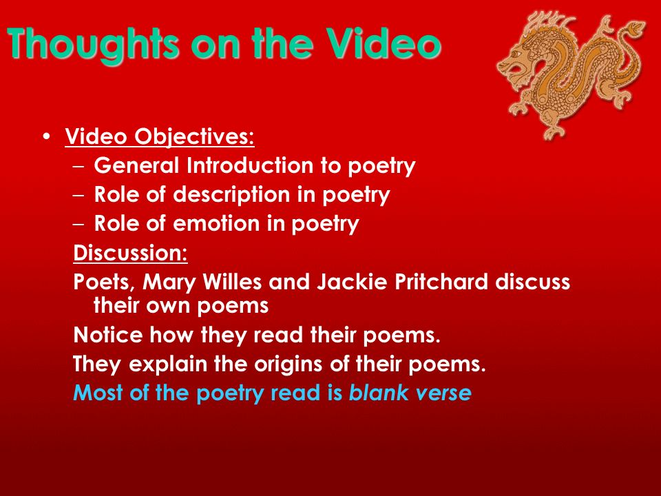 Video: National Poetry Day Anyone can write poetry! Poetry is Everywhere!