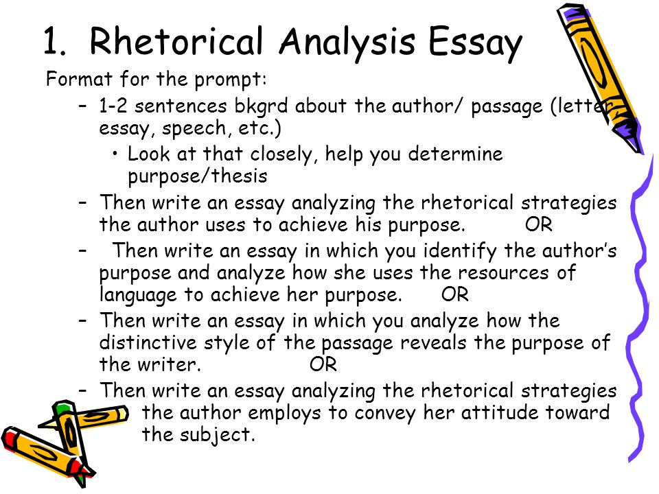 rhetorical strategy essay