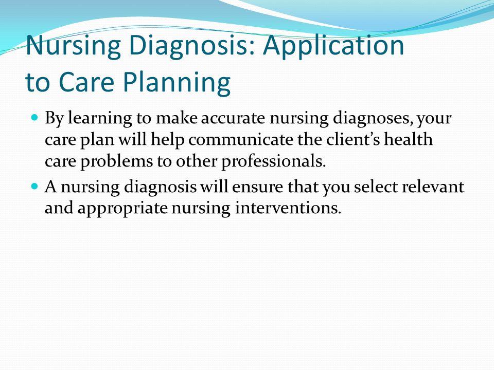 Nursing Diagnosis help?