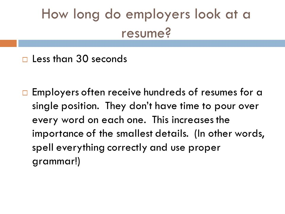 CREATING A RESUME What Is A Resume Also Known As A CV