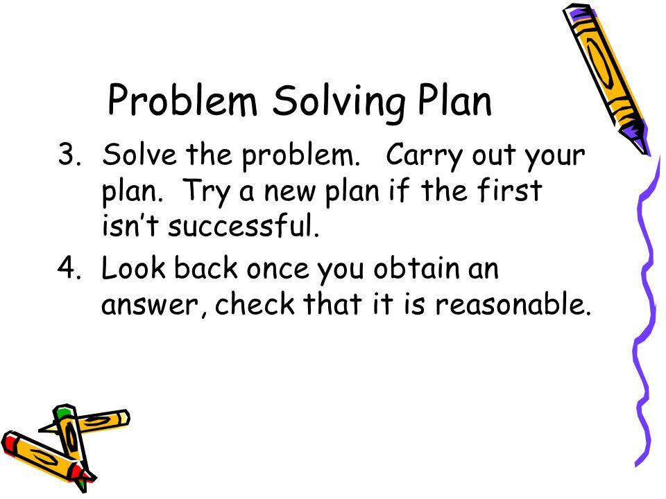 Solves Problems
