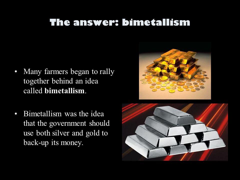 limits of bimetallism