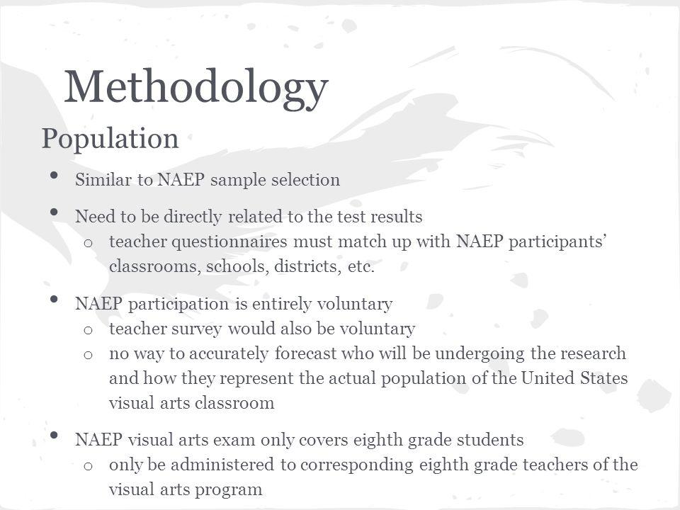 Research Proposal Part II Creating a NAEP Teacher Questionnaire ...