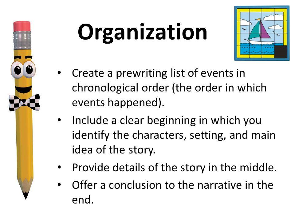 chronological order in narrative essay original content personal statement essay for dental school