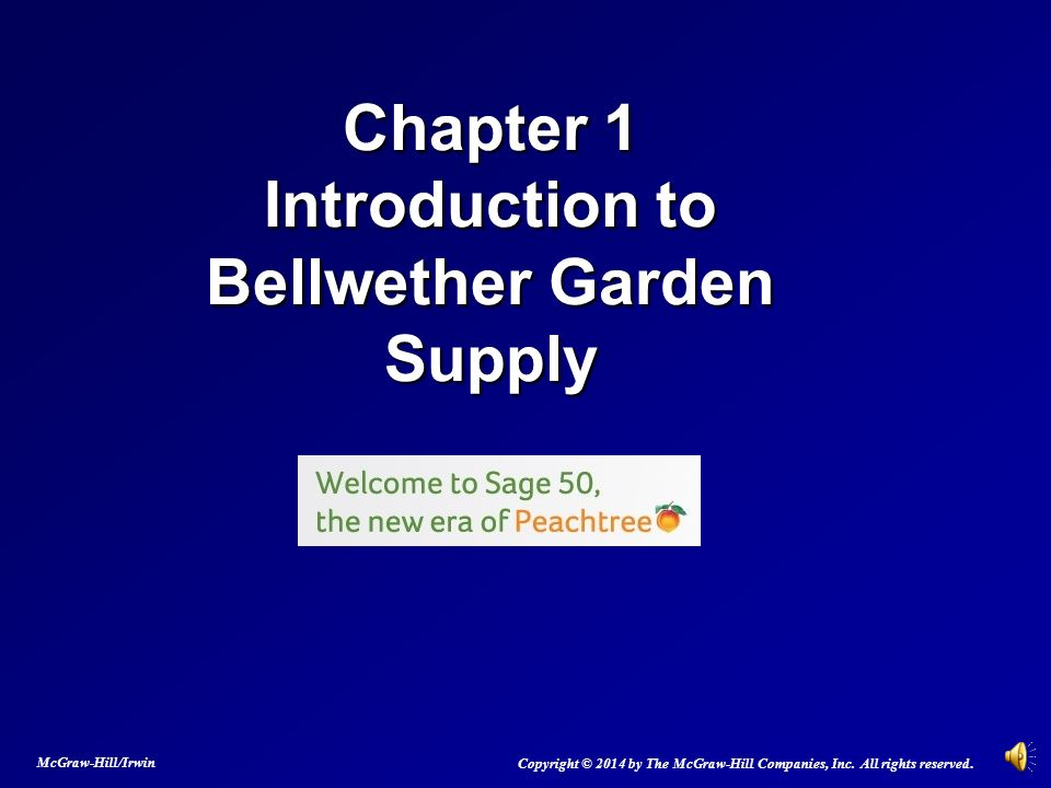 Superior 2 Chapter 1 Introduction To Bellwether Garden Supply ...