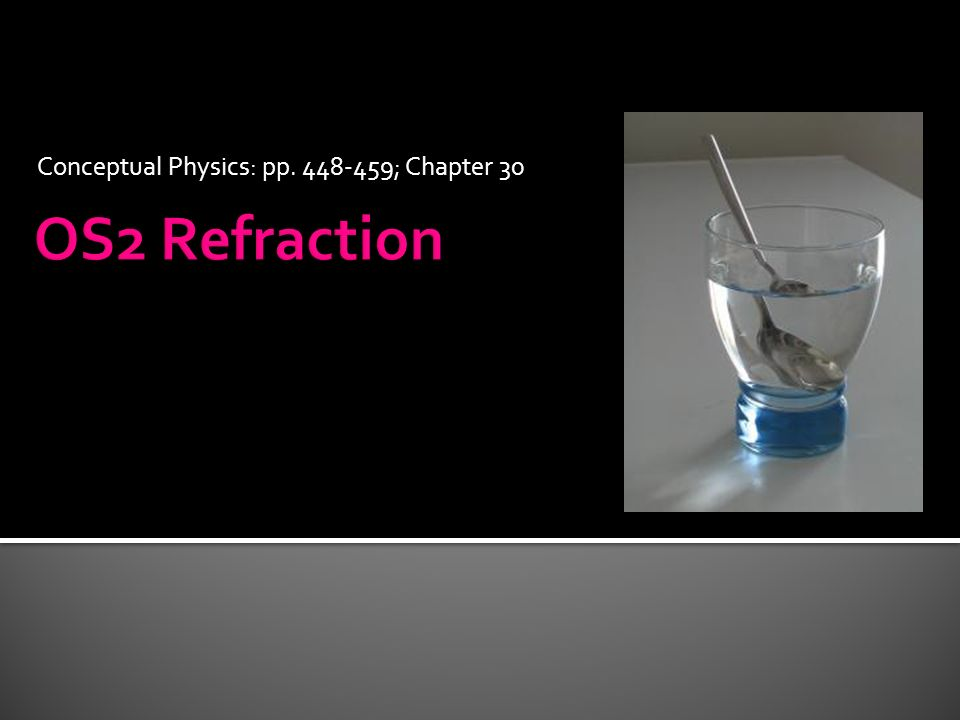 Conceptual Physics: pp ; Chapter 30