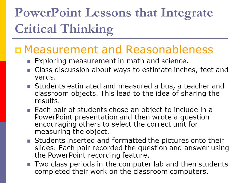 PPT   Introduction to Critical Thinking PowerPoint Presentation     SlidePlayer