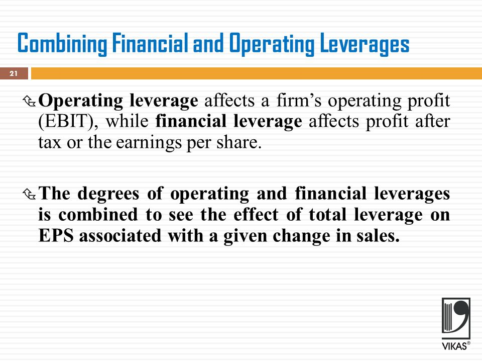 financial effects of leverage
