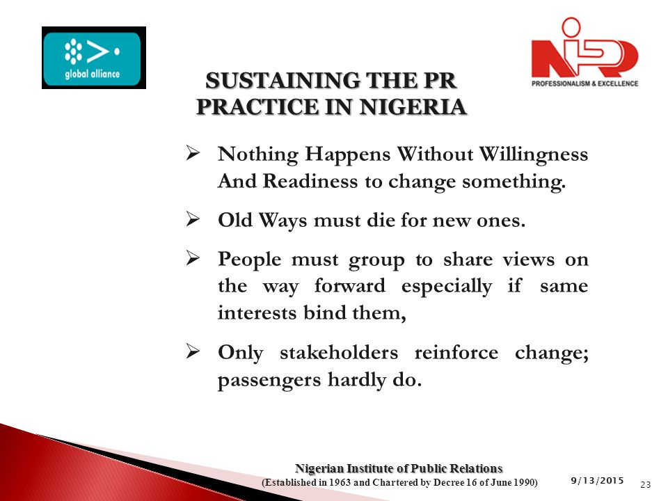  Nothing Happens Without Willingness And Readiness to change something.