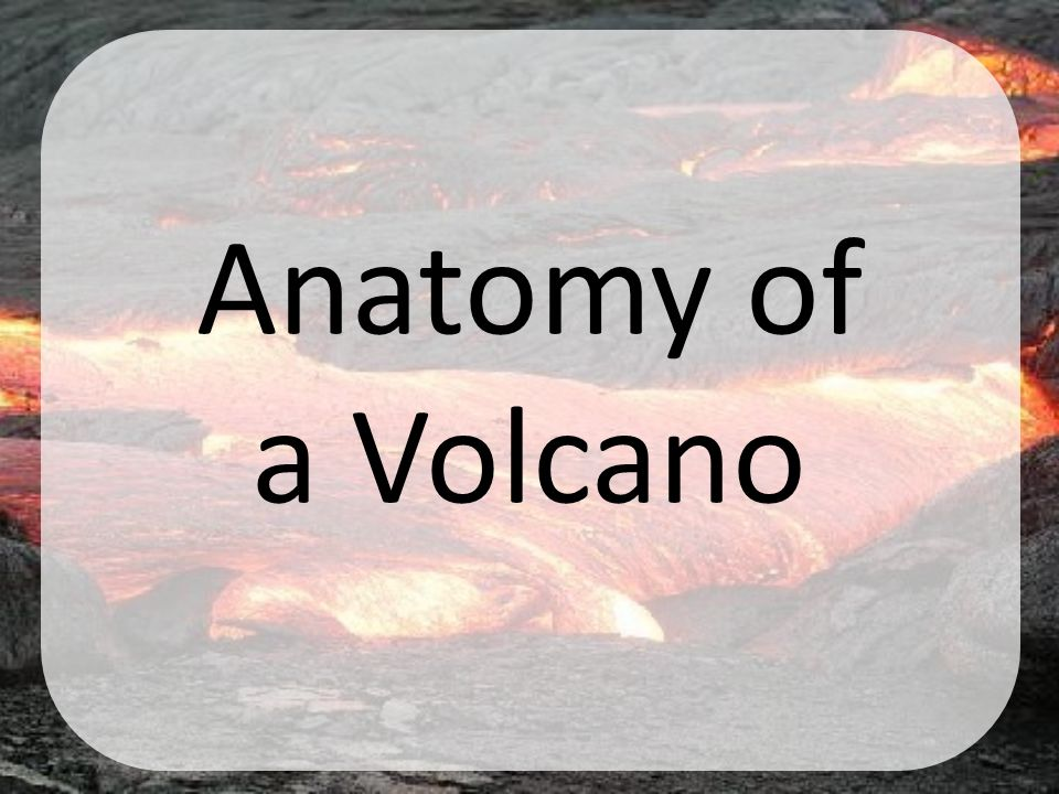 Anatomy of a Volcano