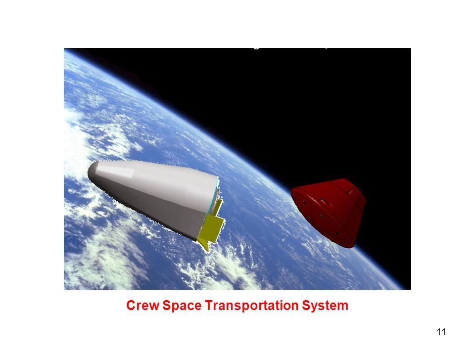 11 Crew Space Transportation System