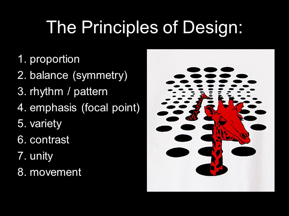 Principles Of Design Contrast : Elements principles of design good is all about this