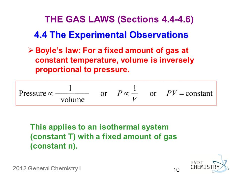 gas constant bar. 4.4 the experimental observations boyle\u0027s law: for a fixed amount of gas at constant temperature, volume is inversely proportional to pressure. bar