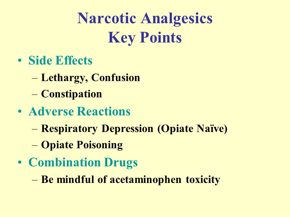 Is tylenol 4 a narcotic
