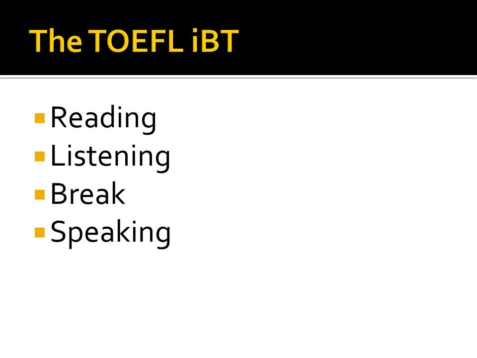 Toefl ibt essay forum