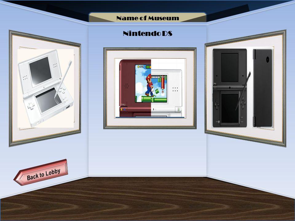 6 Name Of Museum Nintendo DS Artifact 11 12 13