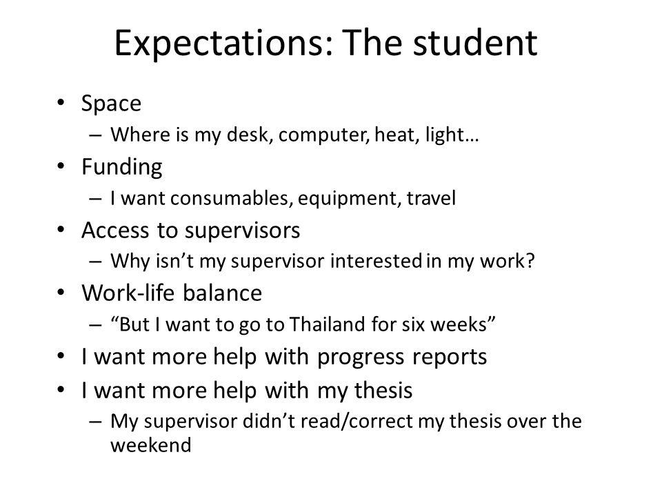 work life balance thesis proposal