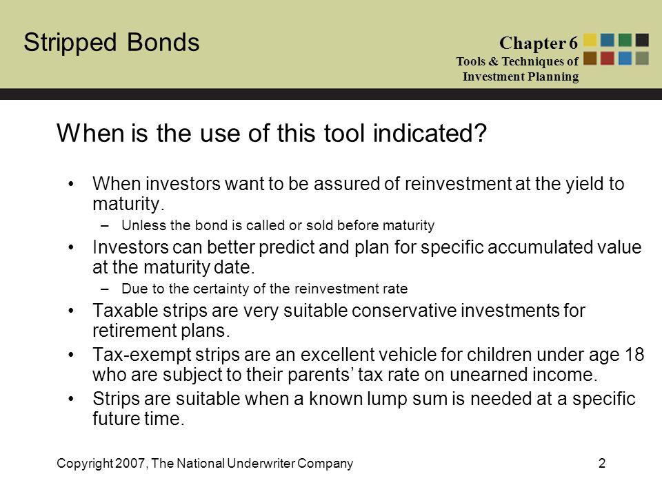 Government of canada strip bonds