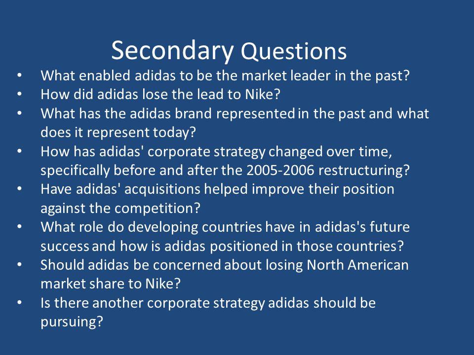 adidas strategy essay
