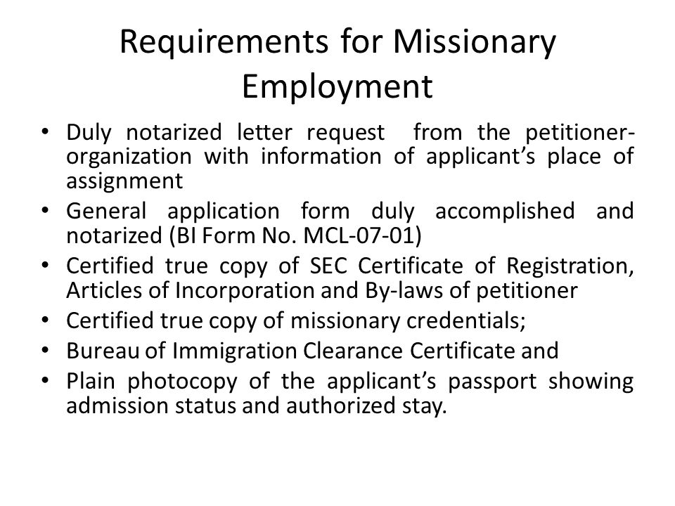 VISA What is a VISA According to Sec 136 of the Foreign Service – General Application Form