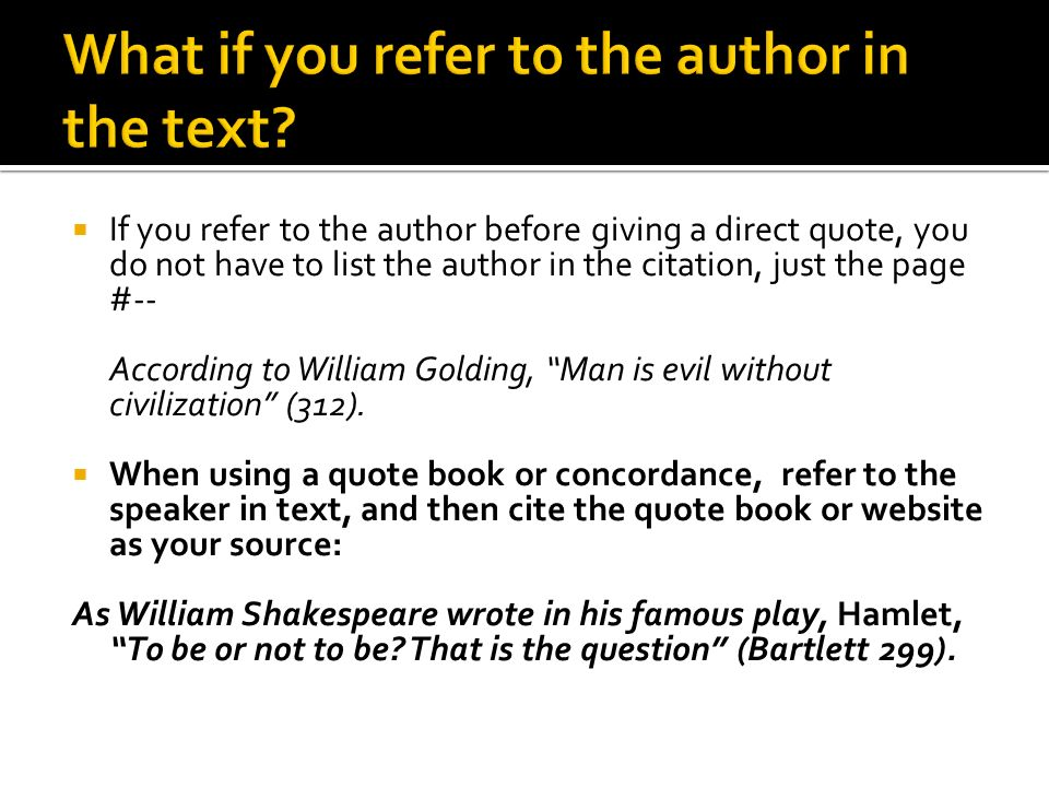 how to cite a quote from a book