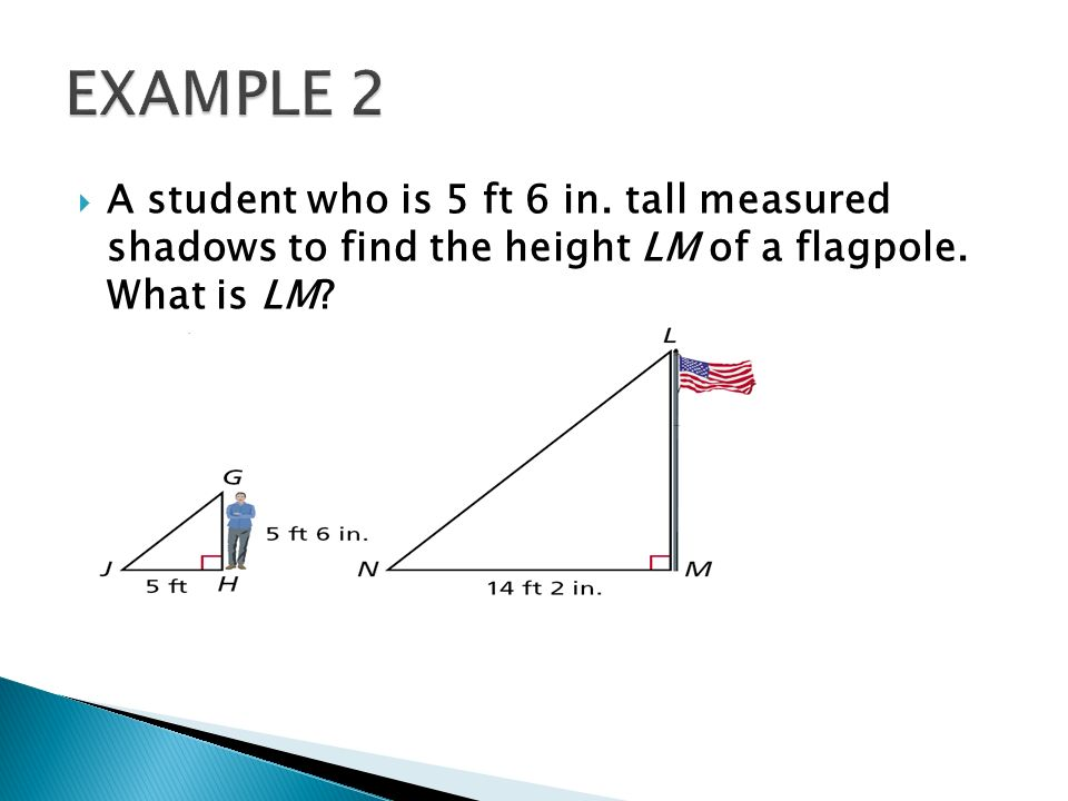 CHAPTER 75 Indirect measurement is any method that uses – Indirect Measurement Worksheet