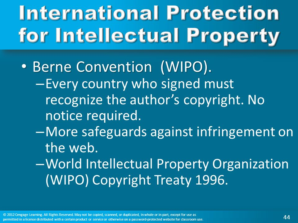 does the protection of intellectual property Intellectual property (ip) refers to creations of the mind: inventions, literary and artistic works, and symbols, names, images, and designs used in commerce.