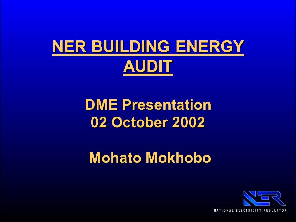 thesis on energy audit