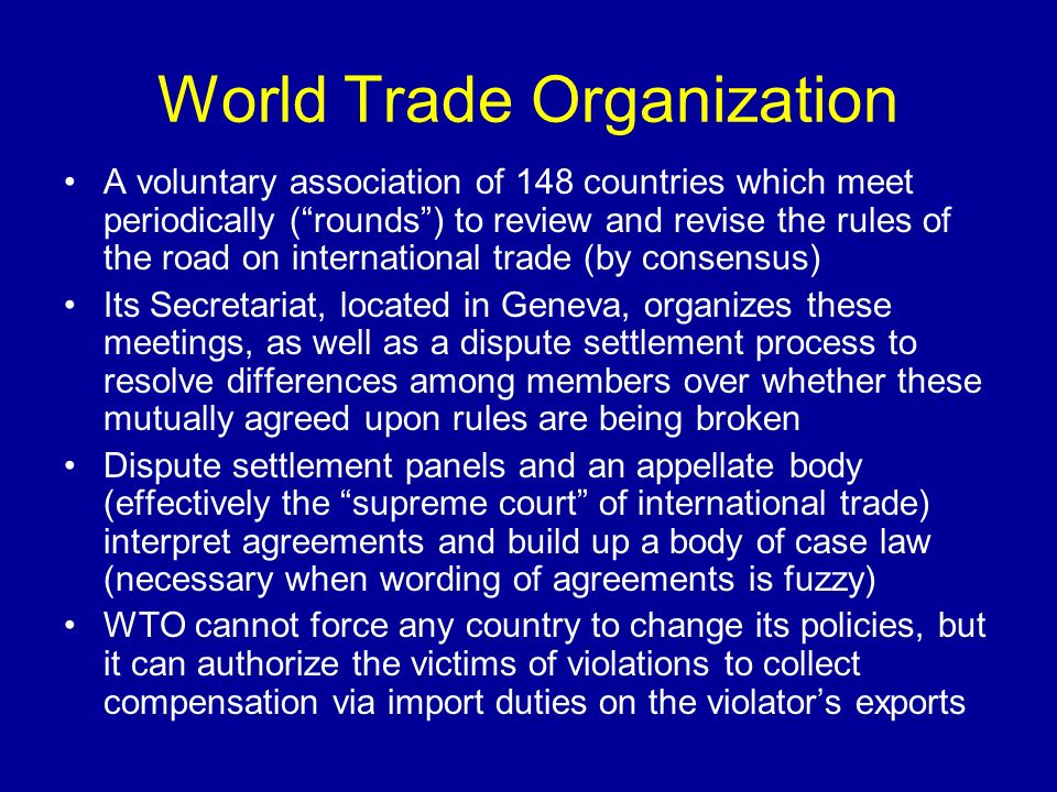 wto trade policy review Trade policy reviews surveillance of national trade policies is a fundamentally important activity running throughout the work of the wto.