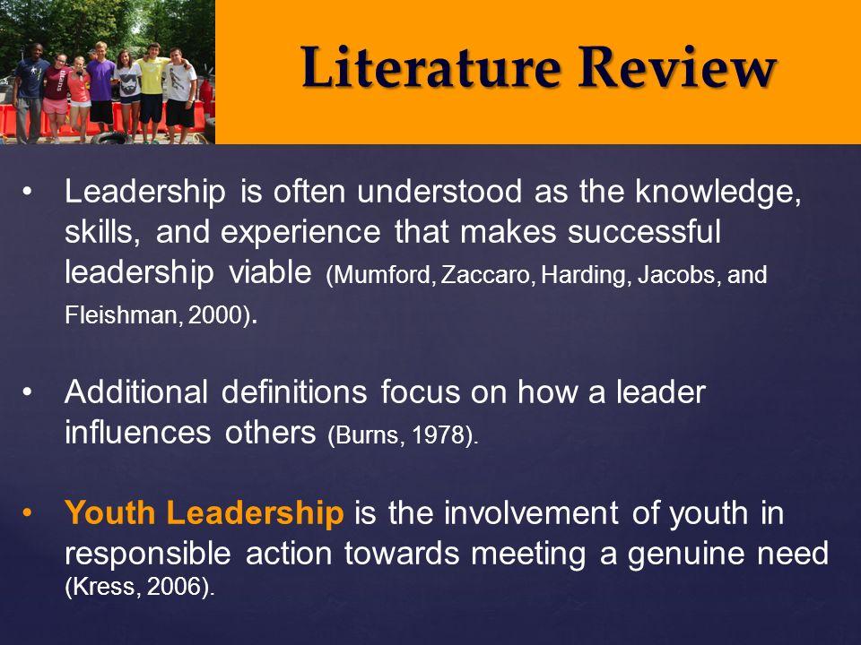 Leadership Sample Essay