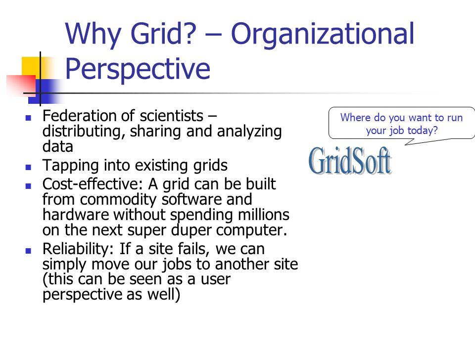 Why Grid.