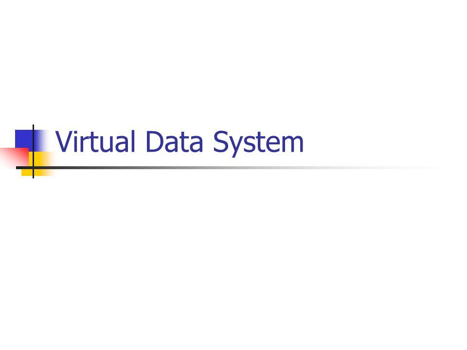 Virtual Data System