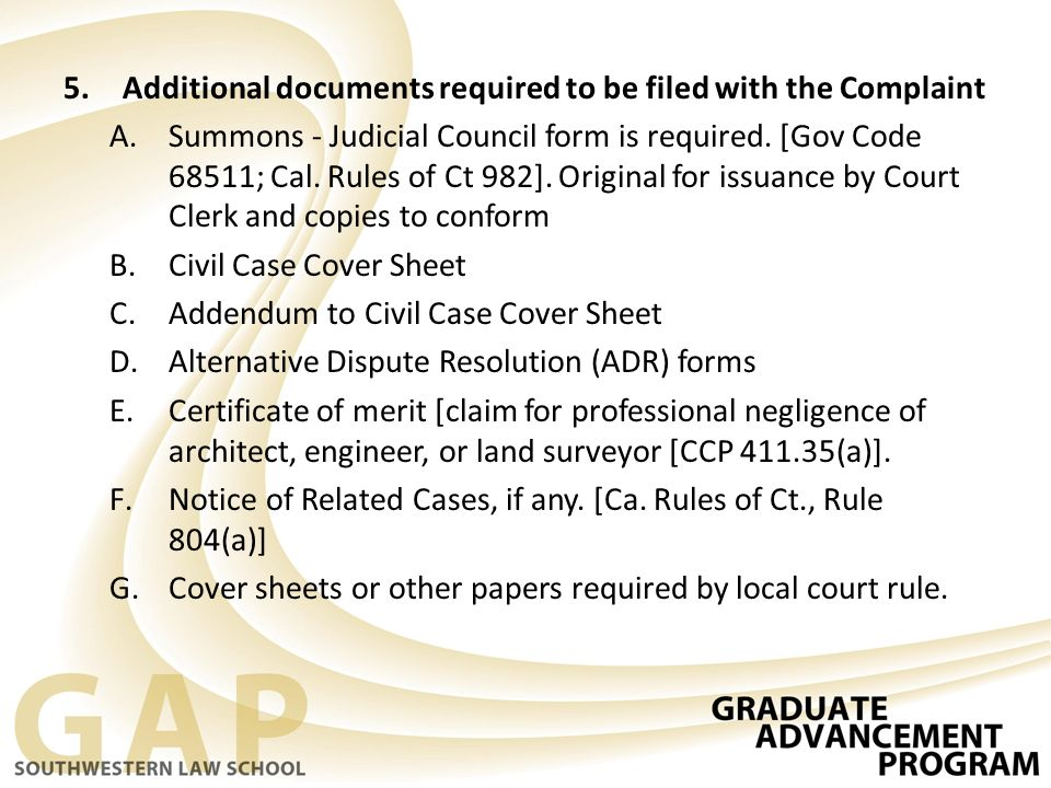 cover sheet addendum civil case cover sheet addendum and janney – Civil Summons Form