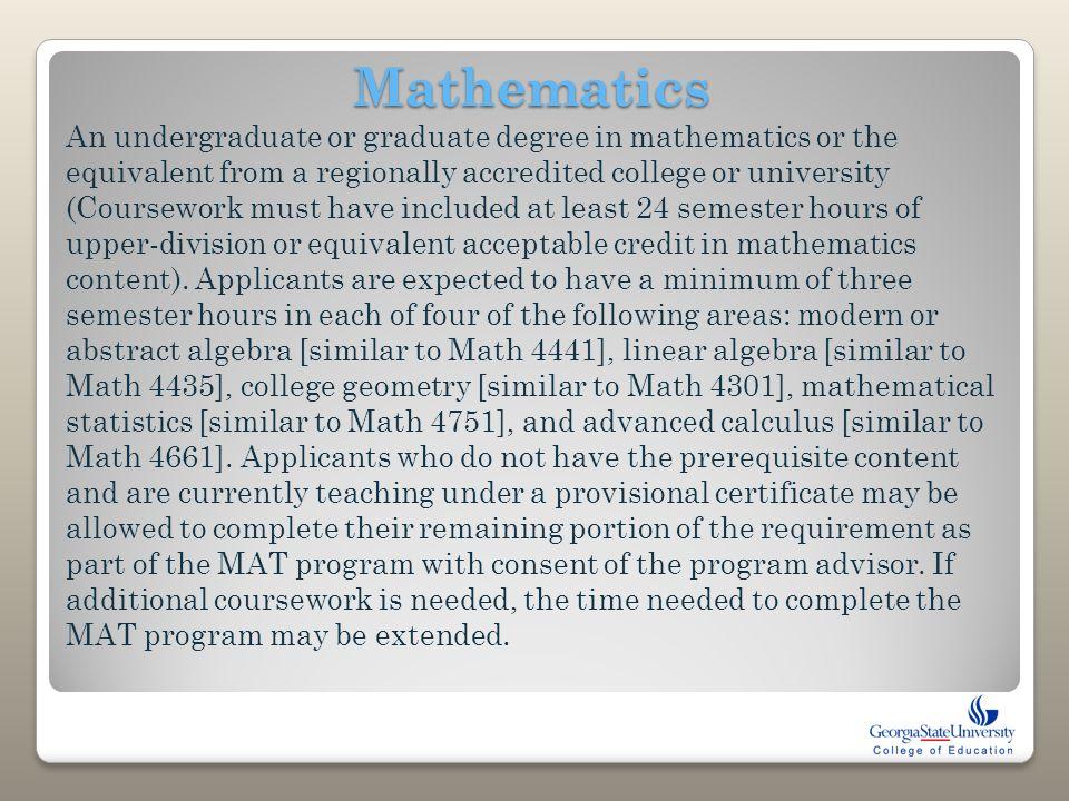 mathematics m coursework