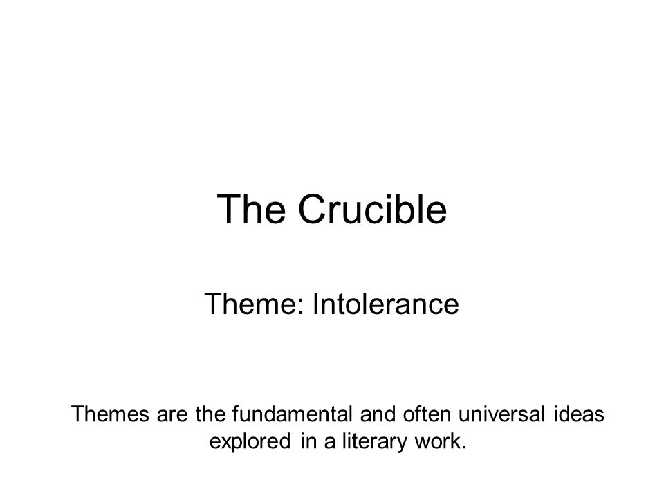 the crucible literary analysis The ultimate schemer one of the main characters of the play the crucible  the crucible character analysis literature war ethics gender.