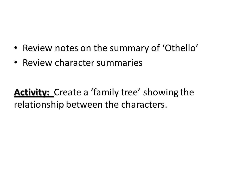 Othello critique tragic hero?