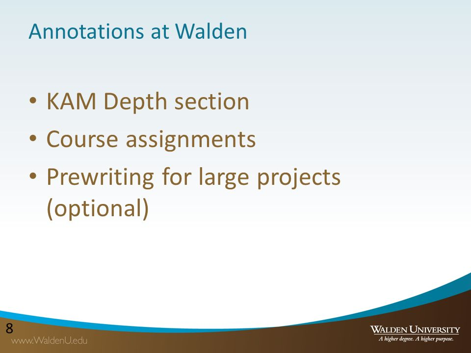 Walden annotated