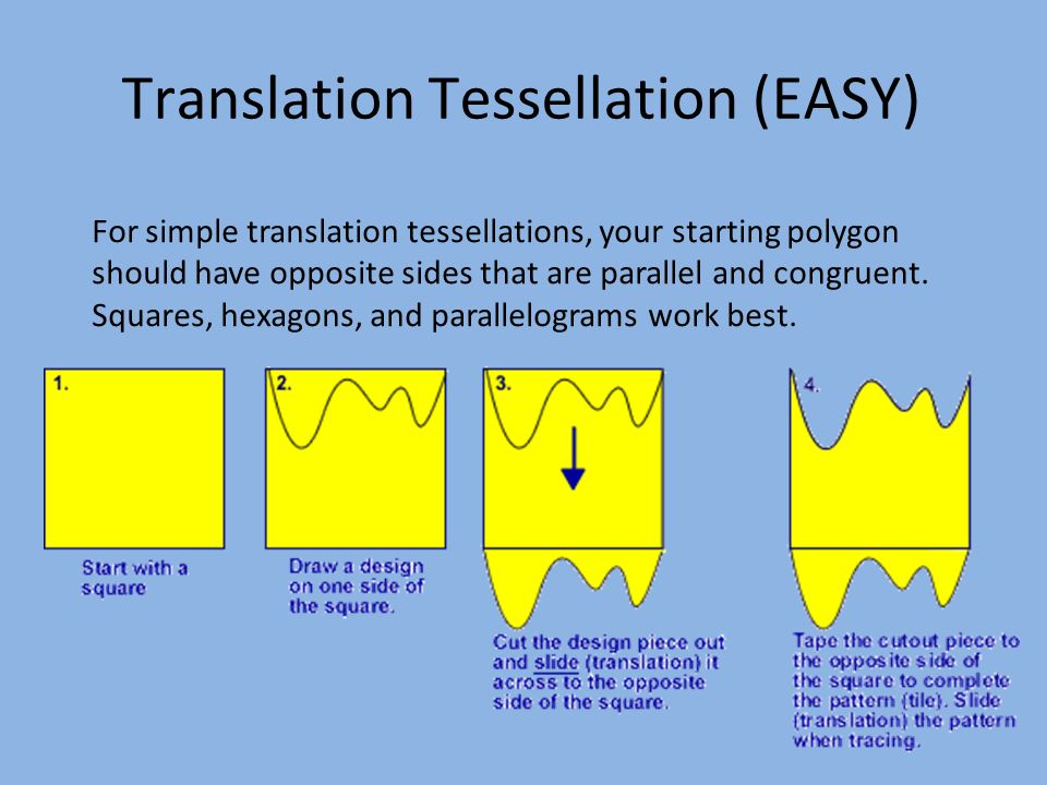 tessellation patterns essay View essay - tesselationct from elementary mth 213 at university of phoenix university of phoenix: mth 214 tessellation patterns corey townley: september 5, 2016 dixon601 using microsoft paint i.