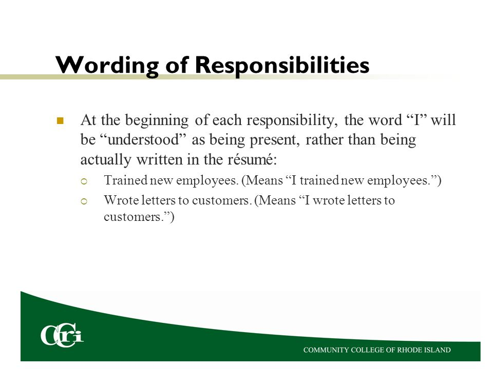 résumés dr karen petit process of getting a job a résumé is one
