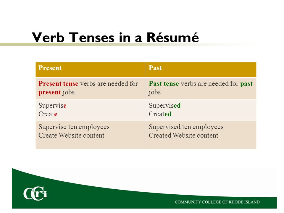 resume past or present tense resume past tense or present ornamentation photo gallery - Resume Job Description Past Or Present Tense