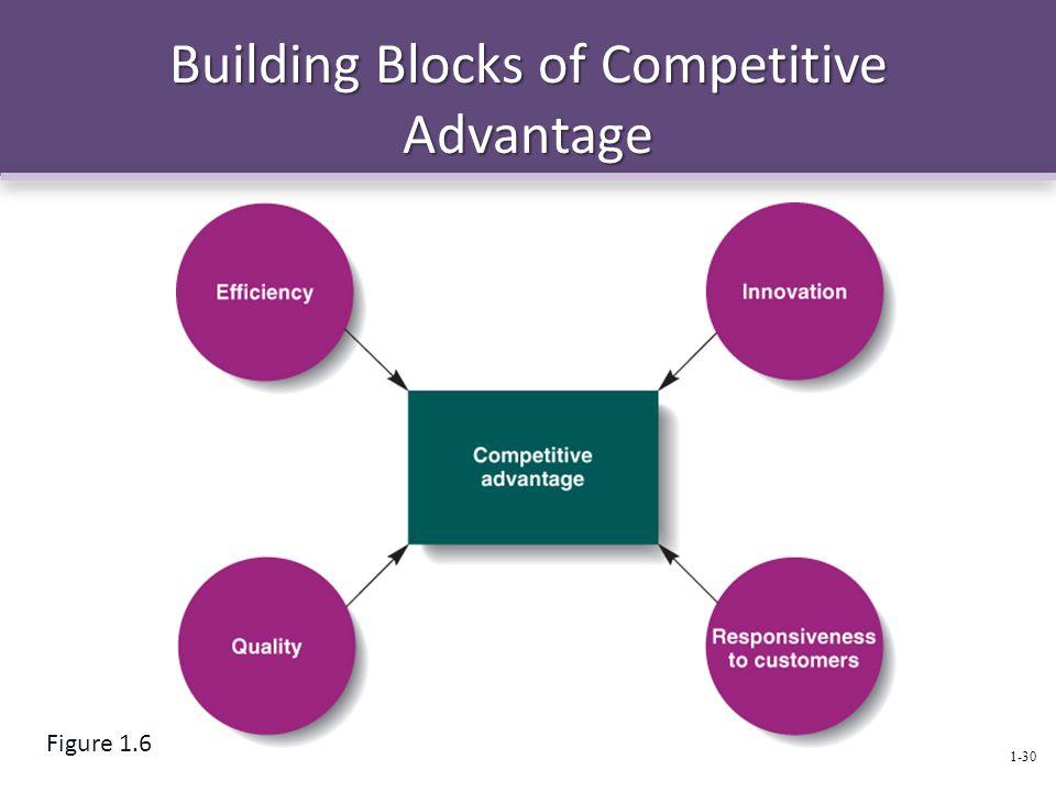 Building Blocks of Competitive Advantage 1-30 Figure 1.6