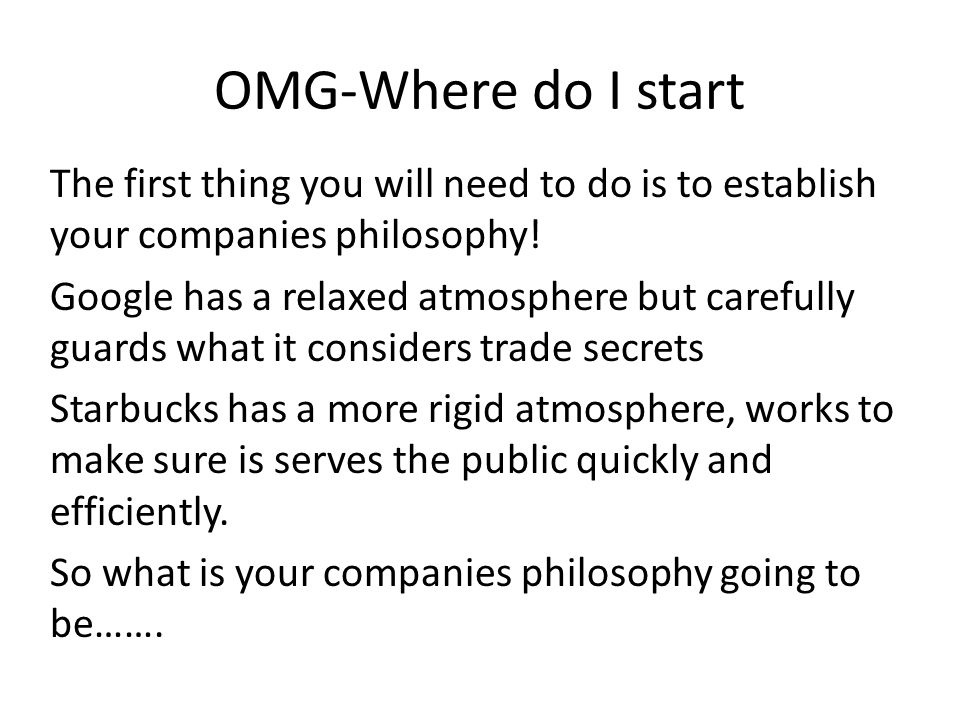 Where do you start with philosophy?