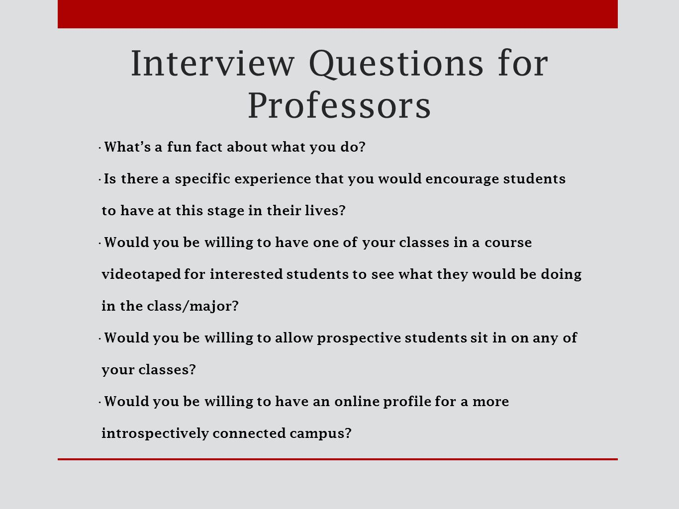 Interview Questions What Experience Would You Encourage In This Field    Ghanaphotos.us   High Quality Resume Template