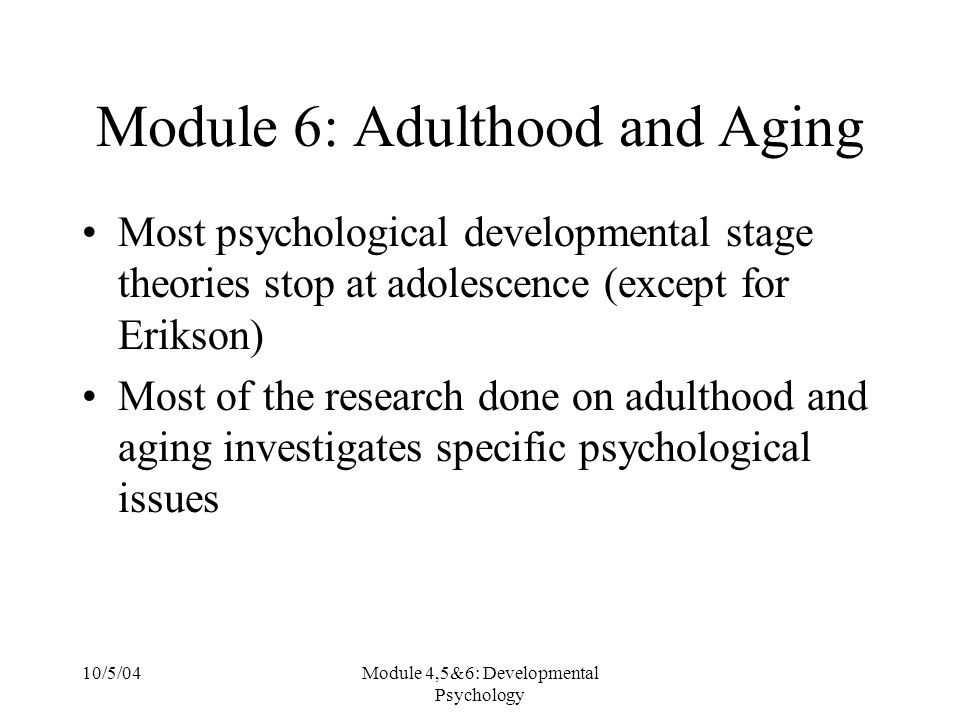 aging and adulthood 2 essay We will write a cheap essay sample on development in adolescence and late adulthood worksheet more essay examples on the changes associated with aging do not.