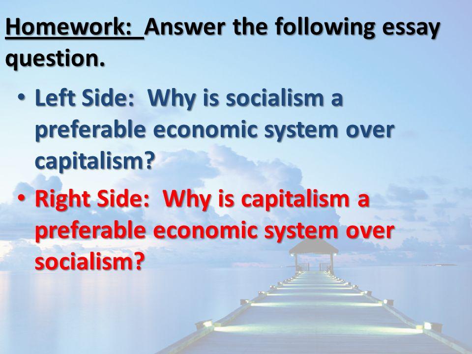 economic systems capitalism essay