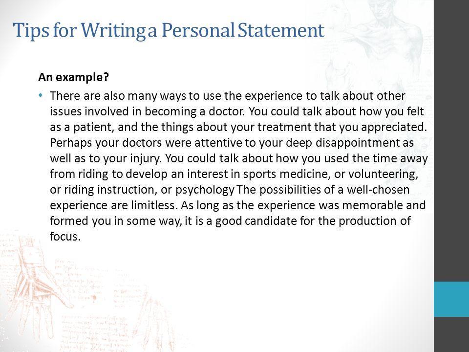 Personal statement to university  Bibliography list