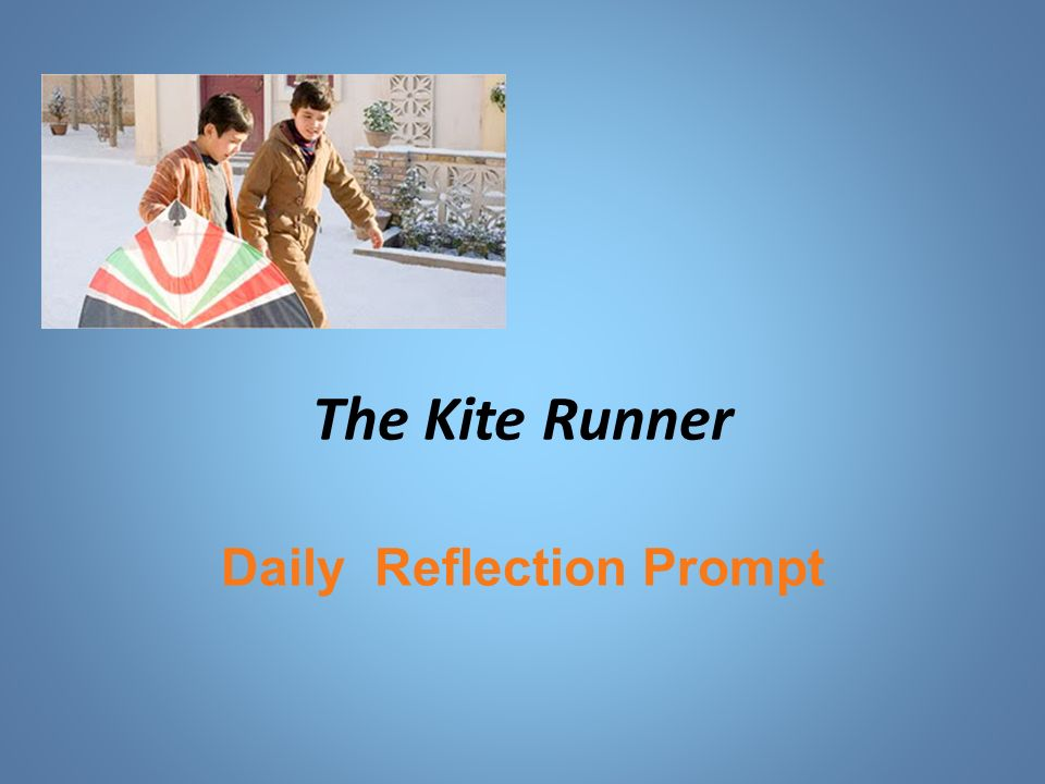 Kite Runner Redemption Essay