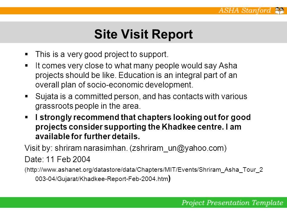Unique Visit Report Template Gallery - Examples Professional Resume ...